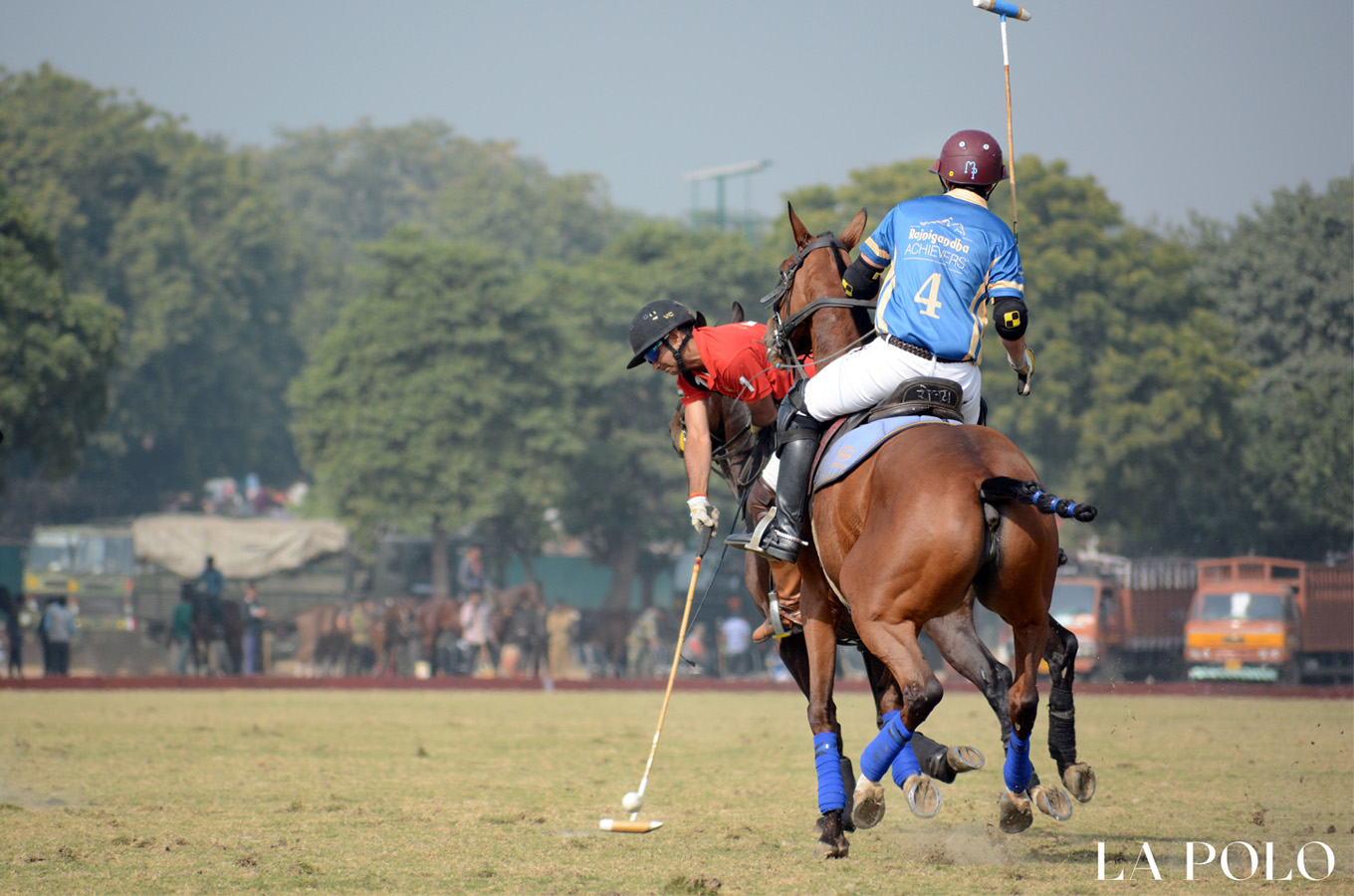 The Finals Of The Last Tournament Of Delhi Polo Season 2018