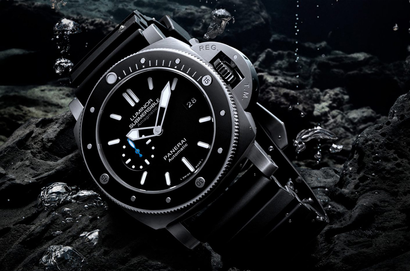 The New Underwater Watch Panerai Submersible Chrono Guillaume Néry