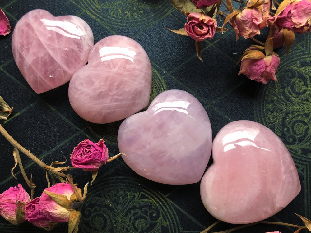 Rose quartz- The Stone Of Love
