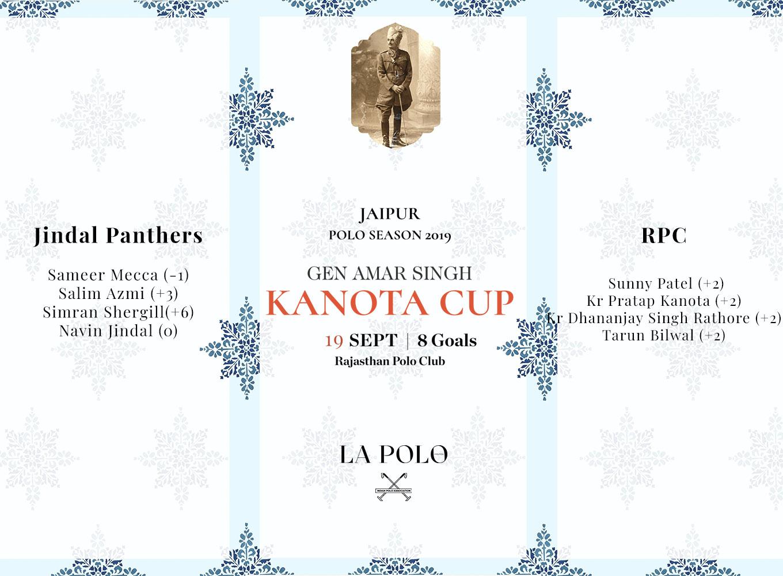 Gen Amar Singh Kanota Cup 2019