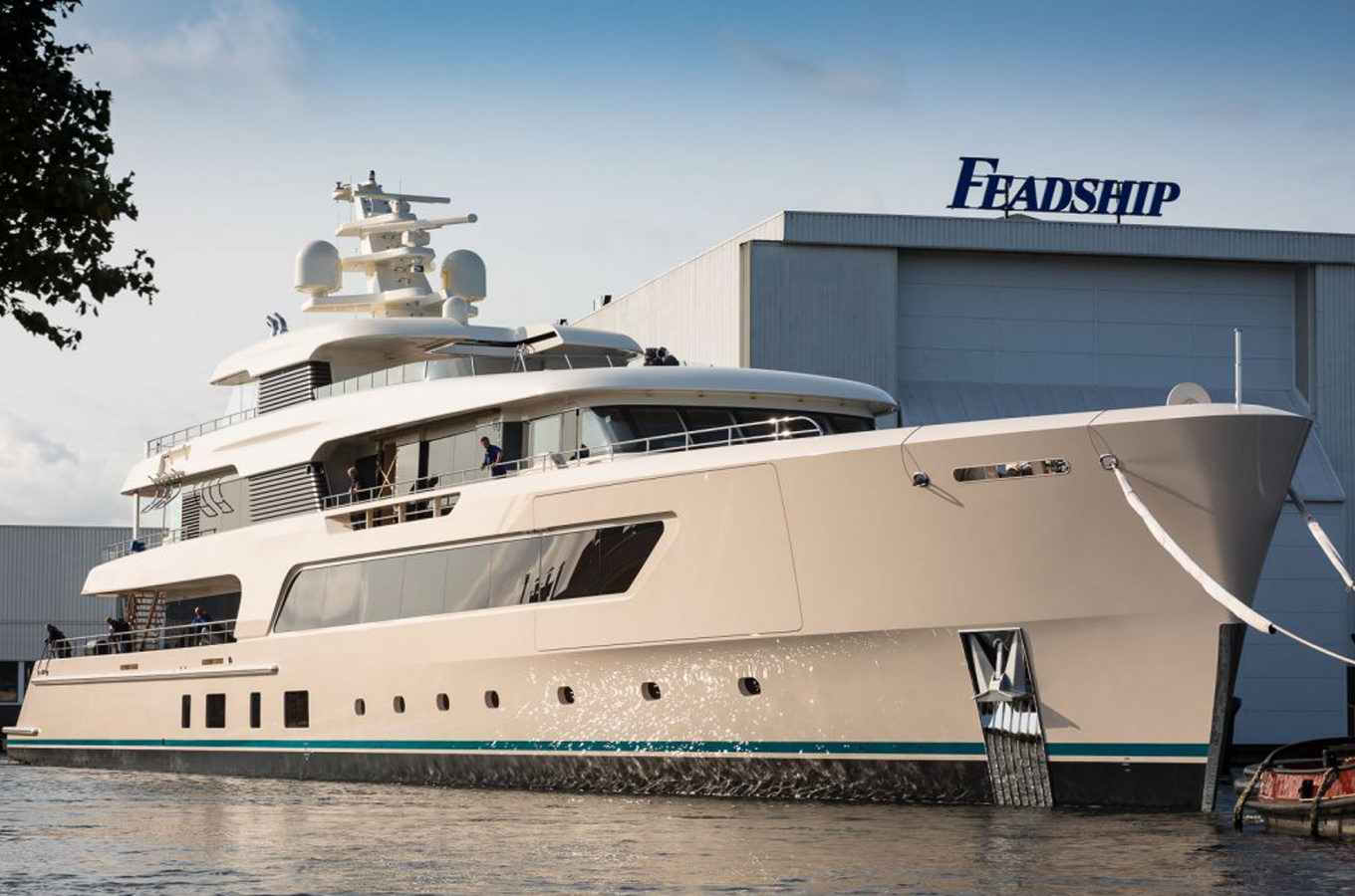 Feadship, super yacht, De Vries and Van Lent yards, Export Association of Dutch Shipbuilders, Luxury yacht,