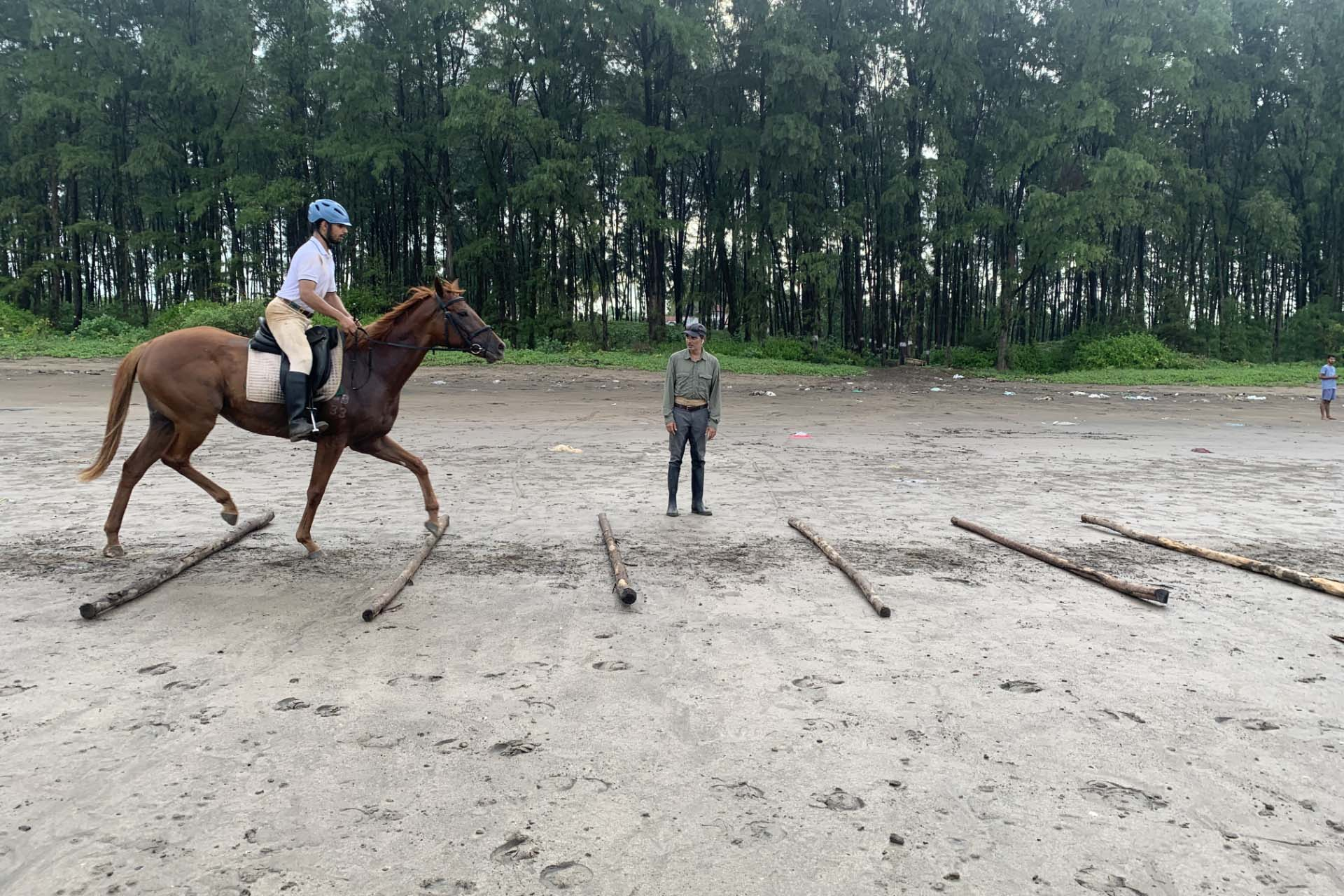 VIEWS OF A YOUNG GUN ON INDIA'S EQUESTRIAN  FUTURE