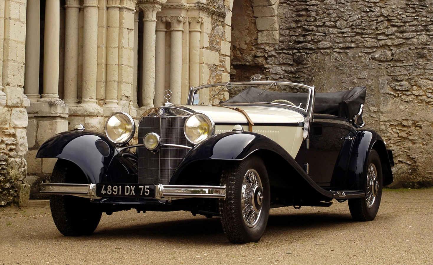 1936- 540K Mercedes