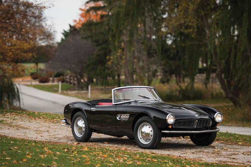 1959 BMW 507 vintage cars