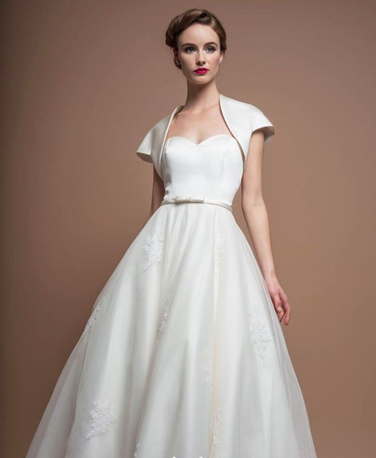 1960s-vintage-tea-length-A-line-wedding-lapolo