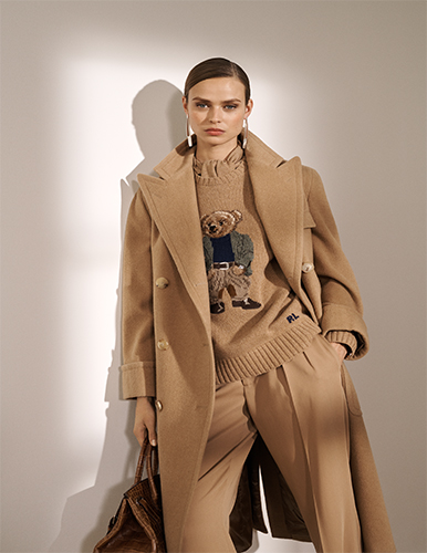 pre-fall collection of Ralph Lauren
