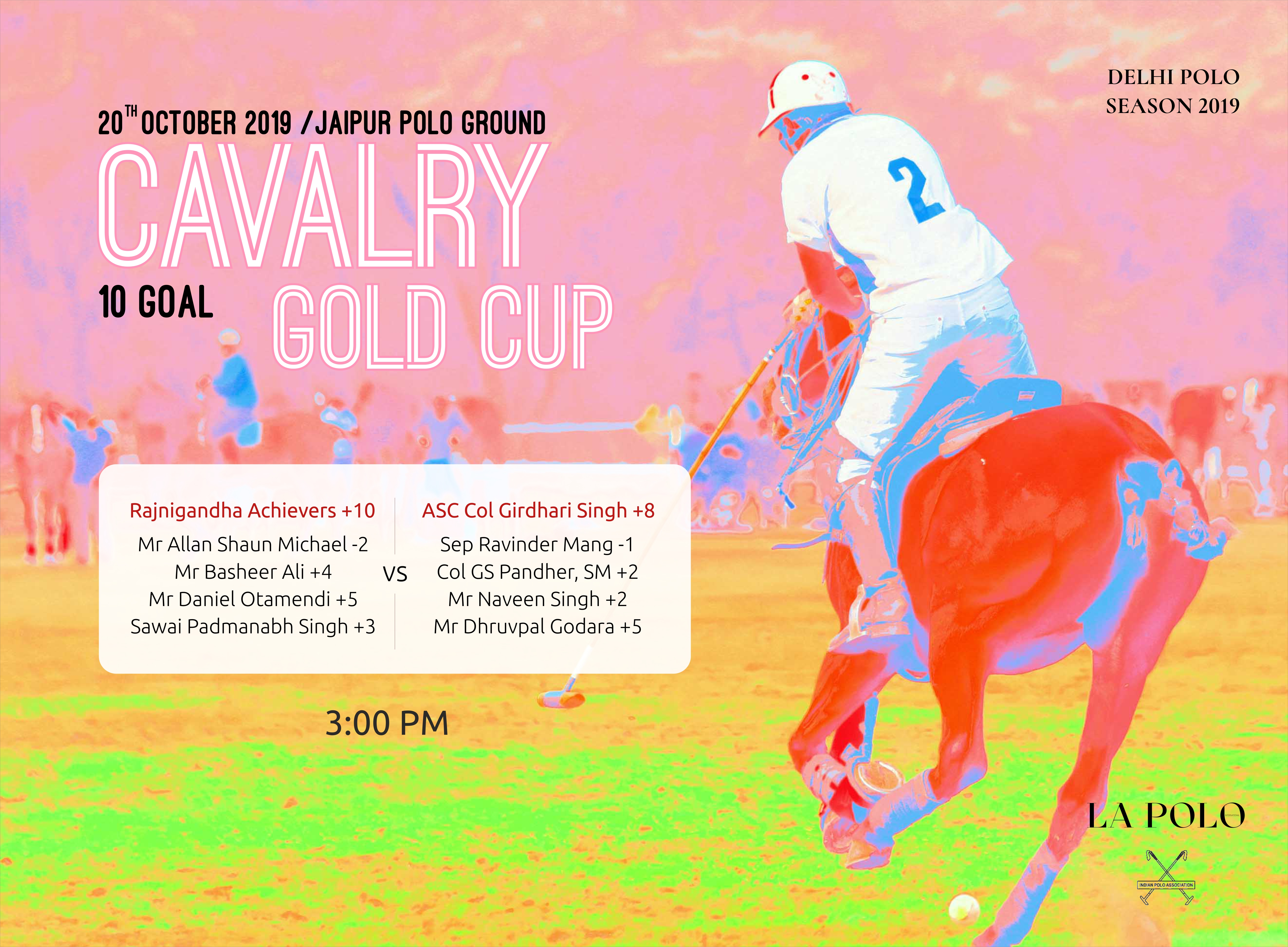 Cavalry Gold Cup?