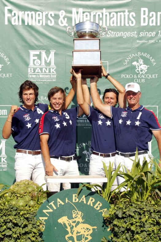 Farmers & Merchants Bank lift the America Cup
