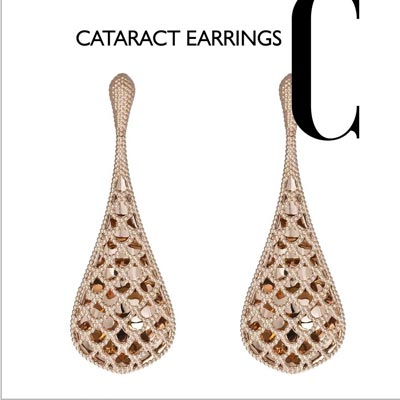 Baselworld Cataract earrings