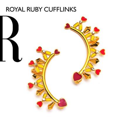 Royal Ruby Cufflinks