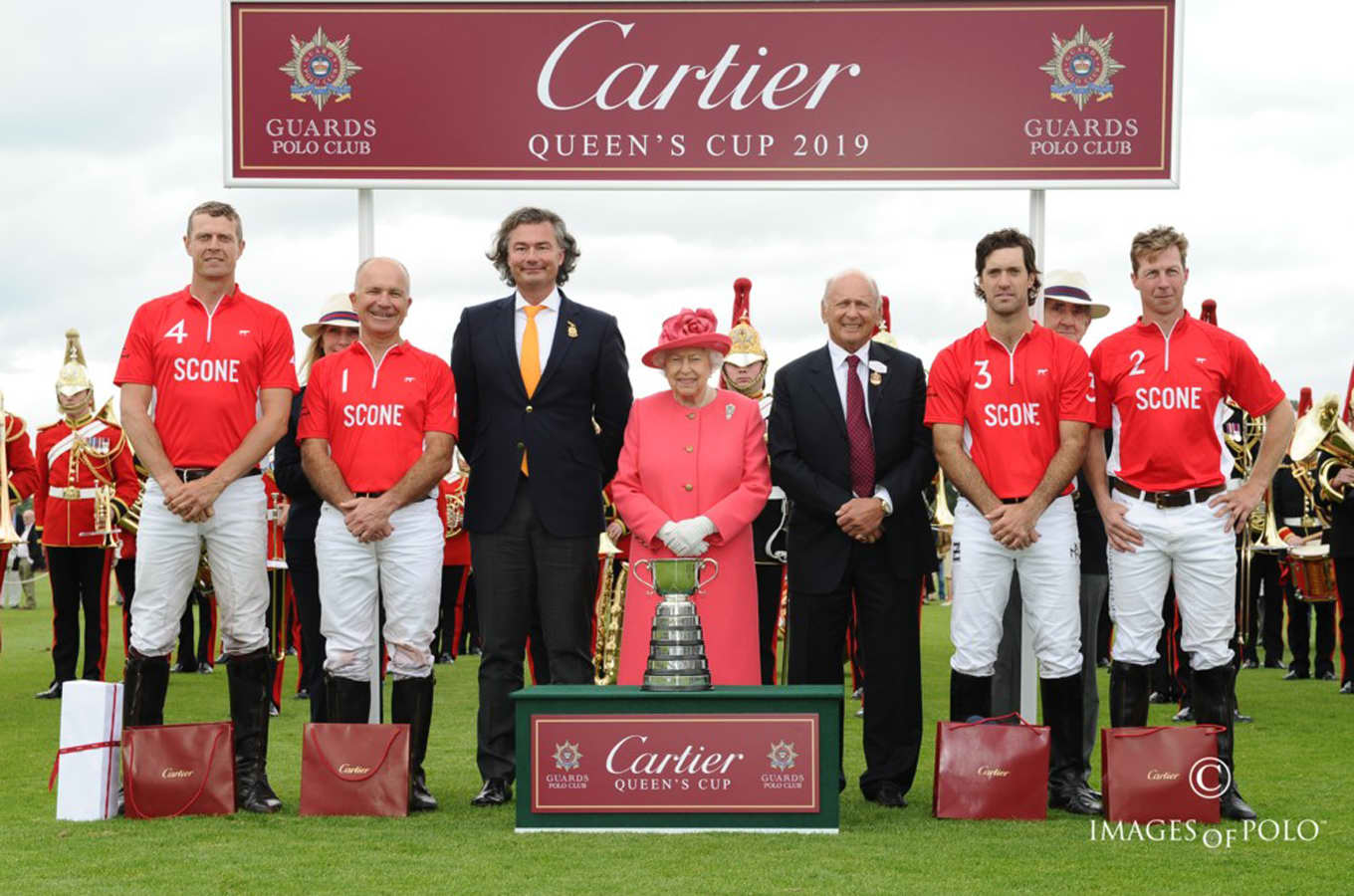 Scone Polo Lifts The Cartier Queen's Cup On Debut