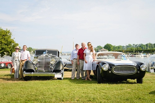 23rd Greenwich Concours - an accolade to Cunningham Cars