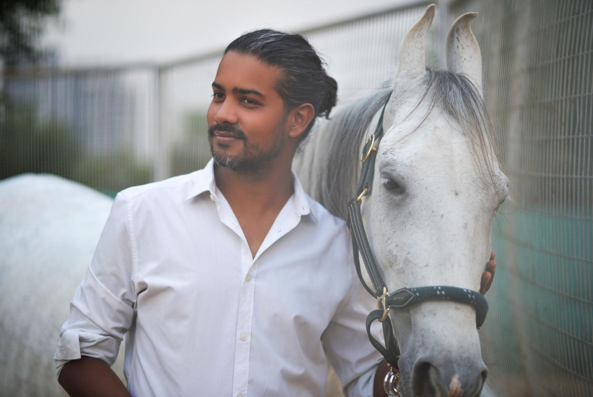 Manjeev Chaudhary Natural horsemanship lapolo