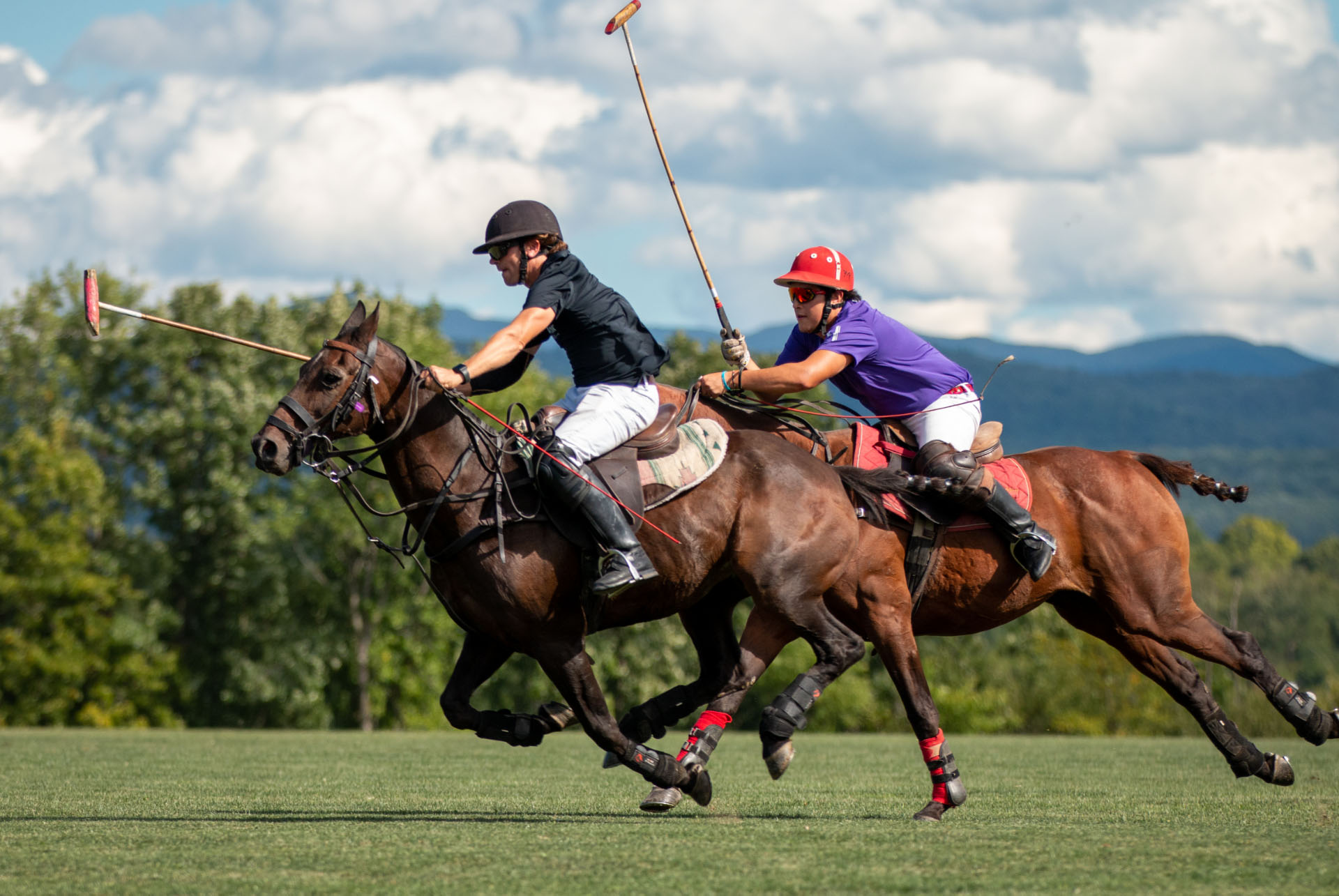 Mario Dino DiSalvo, a polo player from Argentina in conversation with La Polo