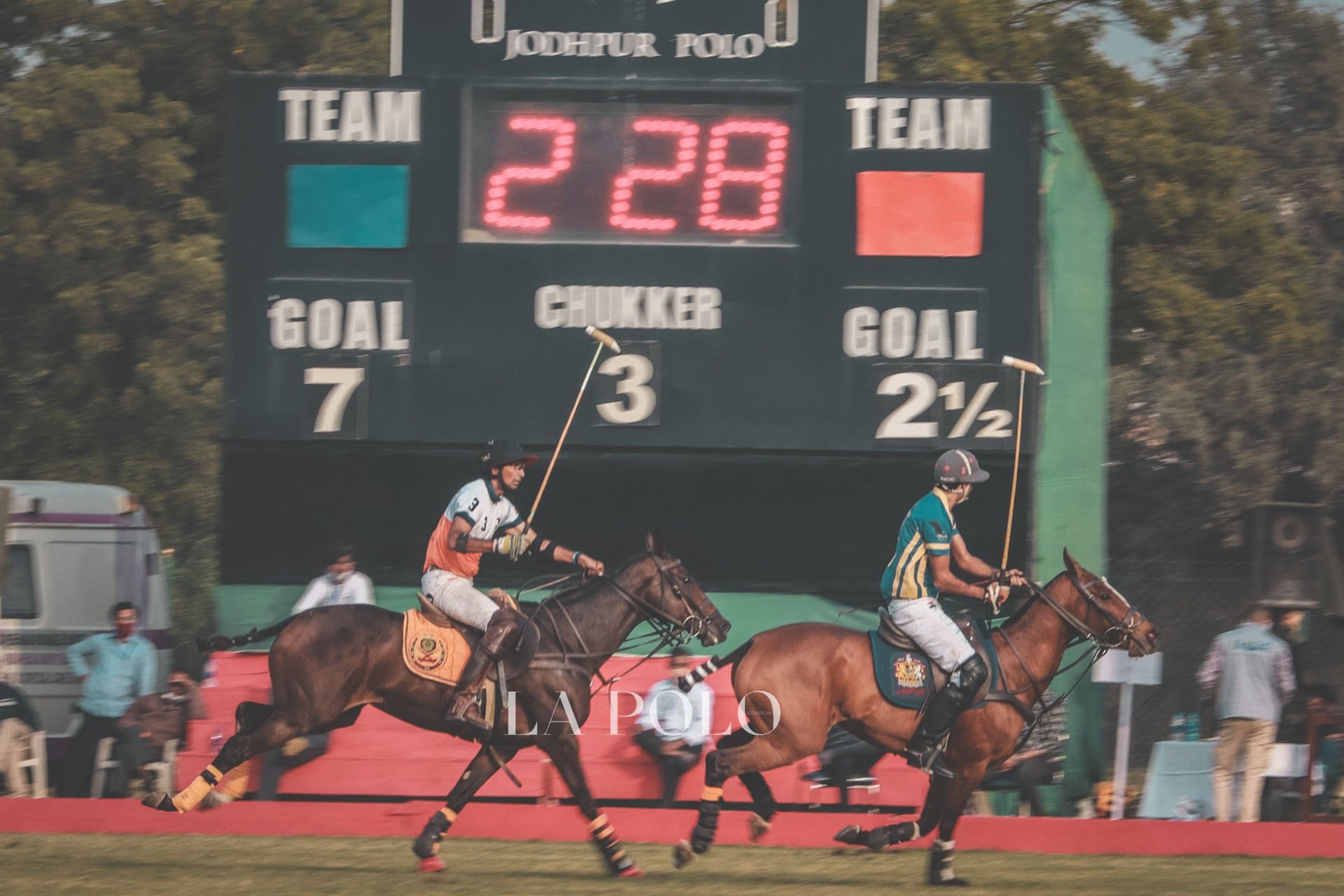 RAJNIGANDHA ACHIEVERS DOMINATES JODHPUR - POLO FACTORY ON DAY 2 OF THE H.H. MAHARAJA OF JODHPUR CUP!