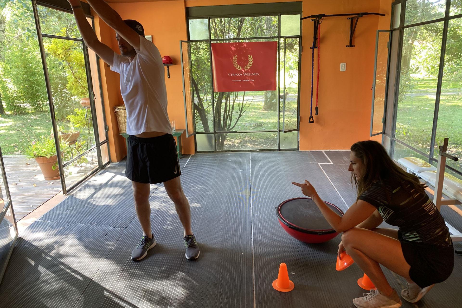 Chukka Wellness expert India Parker
