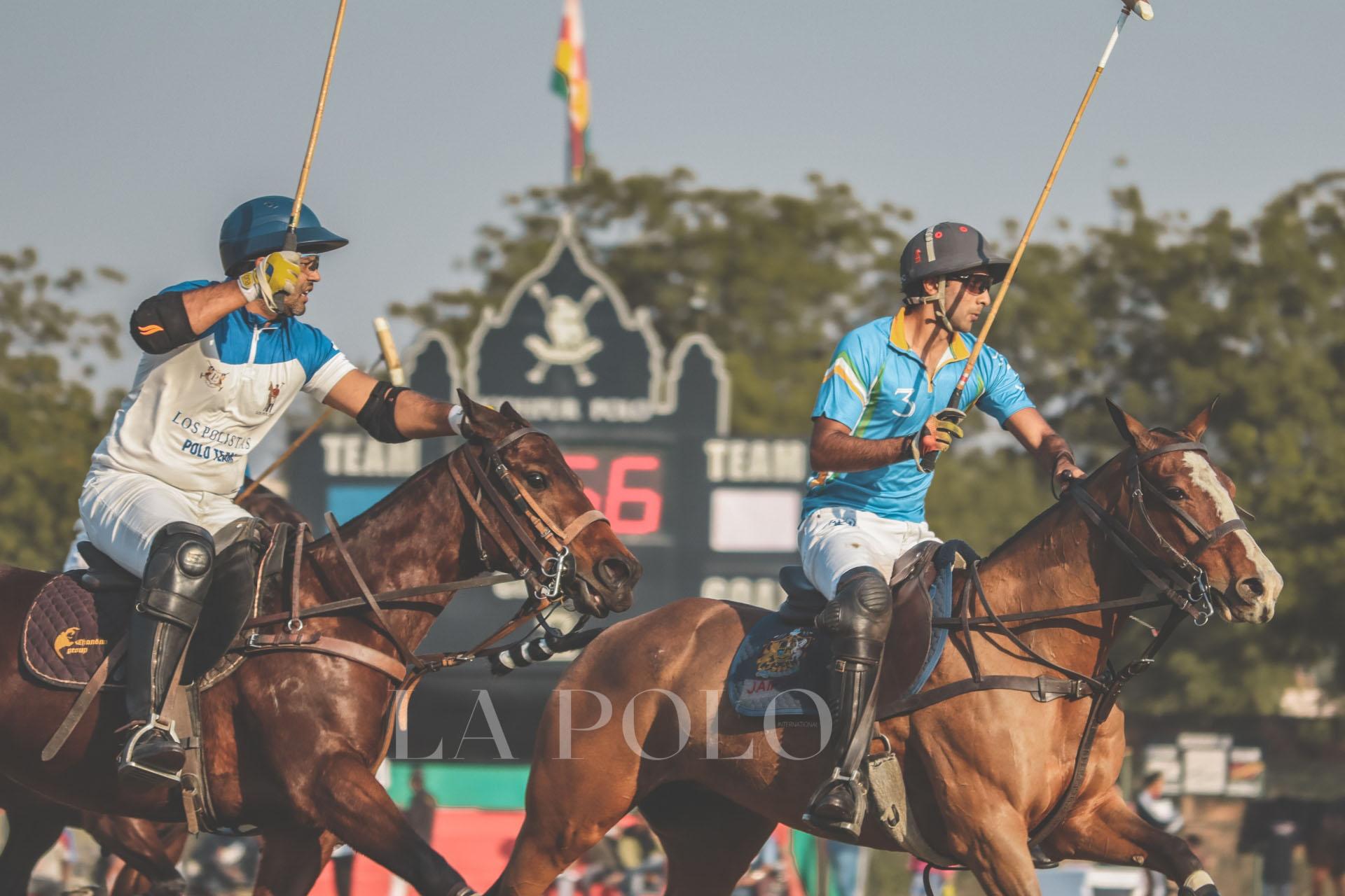 SAHARA WARRIORS OVERCAME LOS POLISTAS AT THE RAJPUTANA & CENTRAL INDIA CUP (10 Goals), 21ST JODHPUR POLO SEASON, 2020!