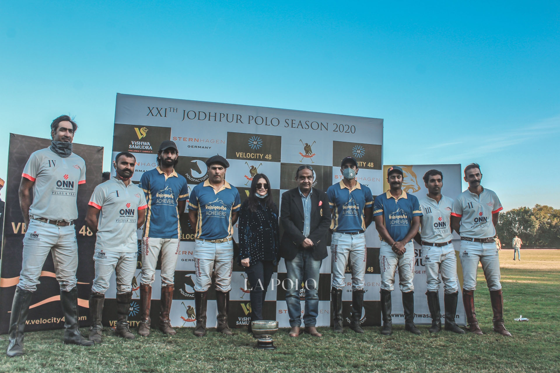 RAJNIGANDHA ACHIEVERS OVERCOME ACHIEVERS ONN TO CONQUER THE H.H. MAHARAJA OF JODHPUR CUP AT THE 21st JODHPUR POLO SEASON 2020!