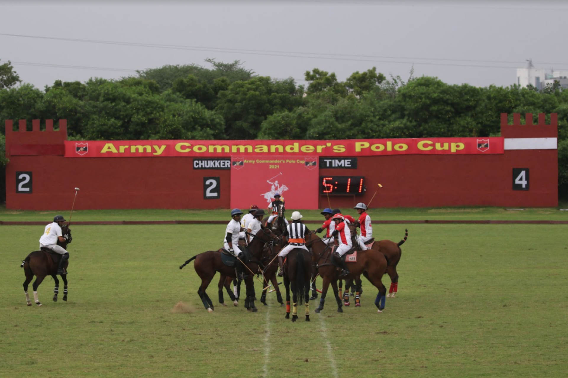 What Happened At The 10 Goal Army CDR's Polo Cup?