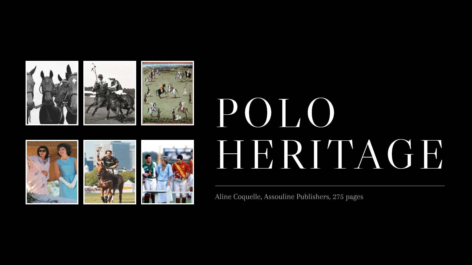 Polo through the realms of time and space