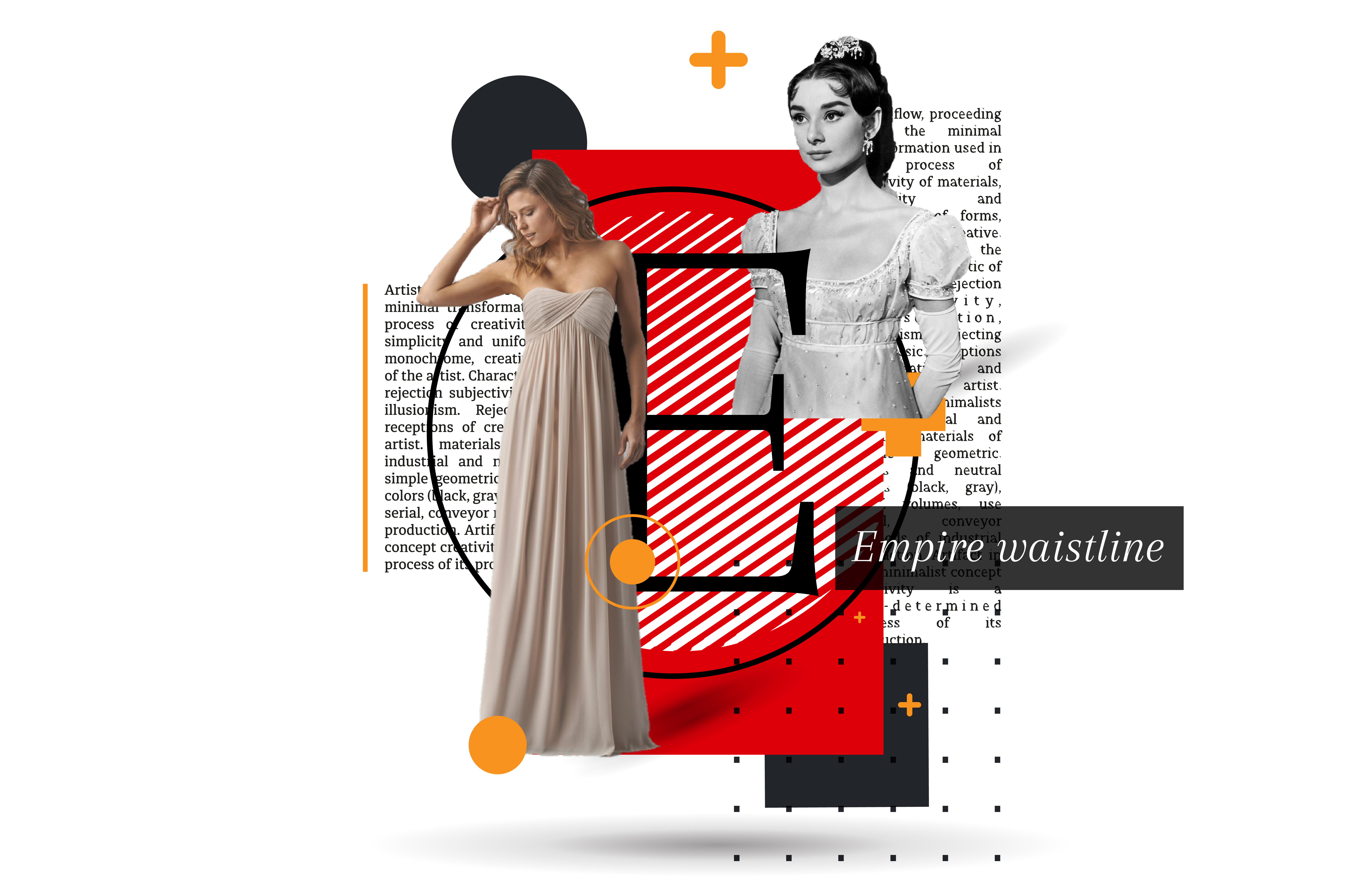 EMPIRE WAIST: Styling with empire waist silhouettes