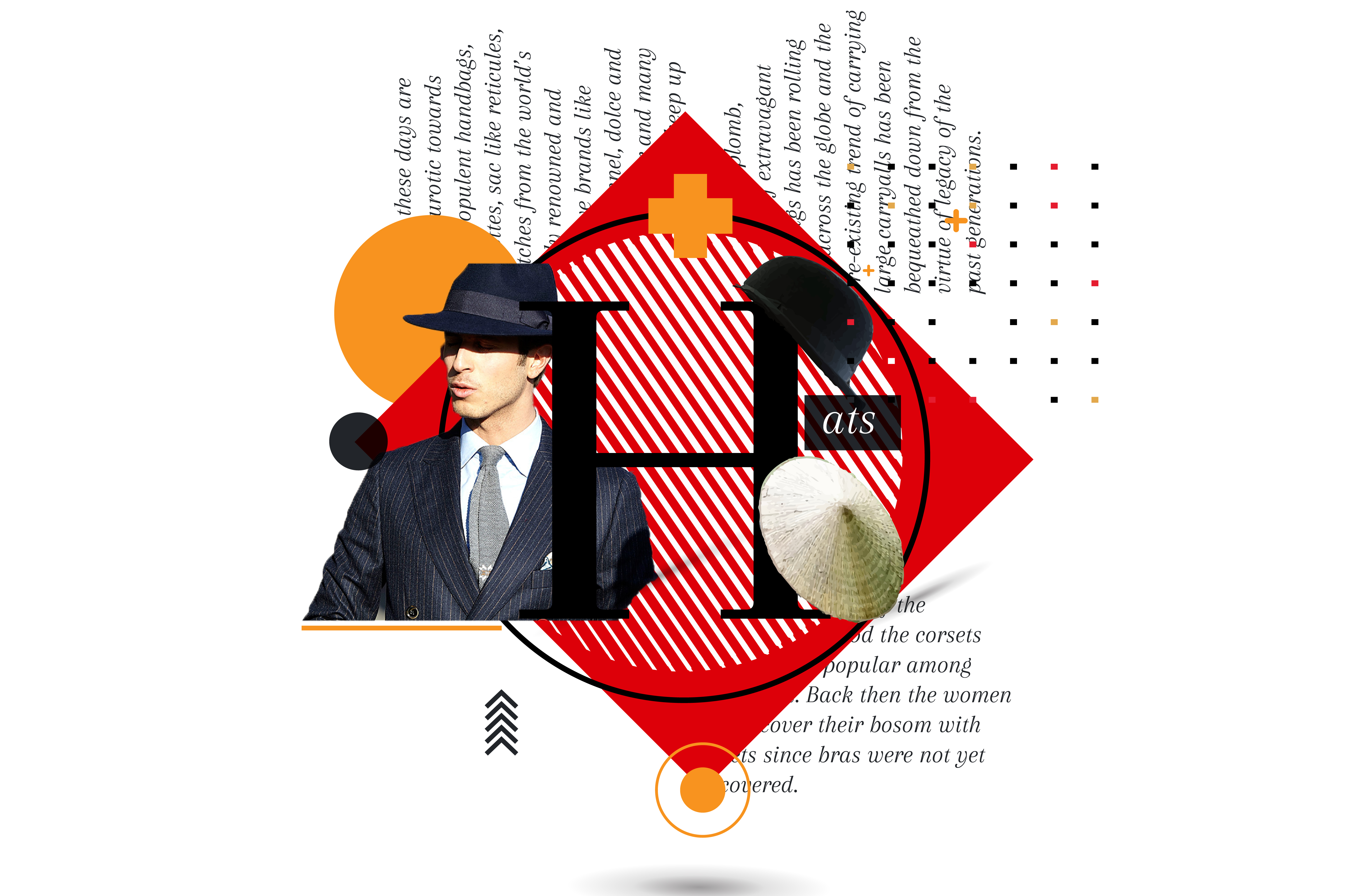 Hat- a symbol of status and authority
