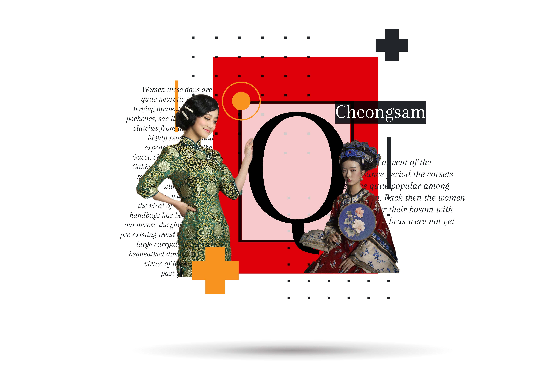 CHEONGSAM: Quintessential emblem of boldness