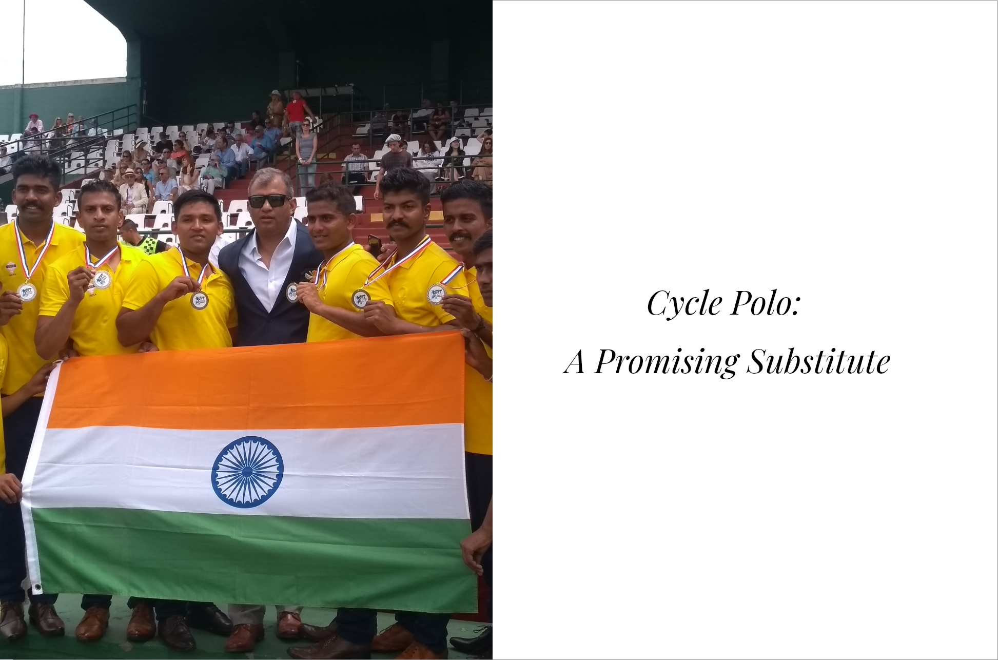 Cycle Polo: A Promising Substitute