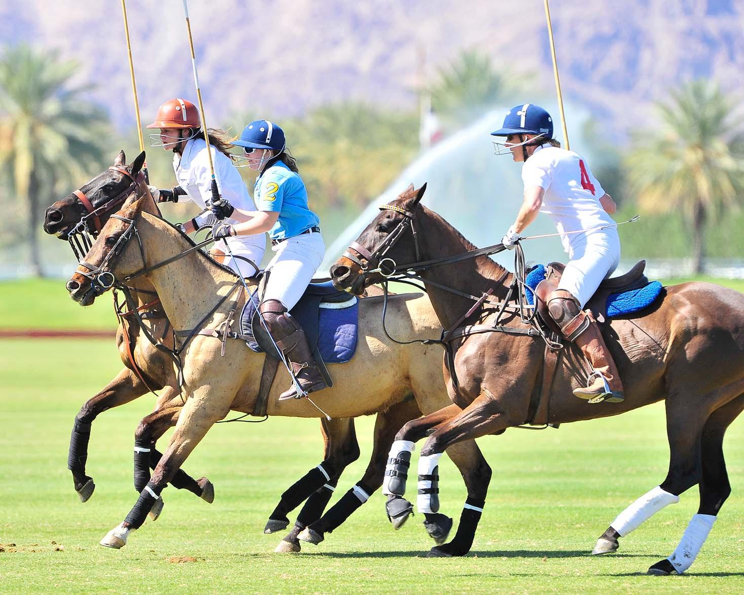 The California Desert: Eldorado Polo Club