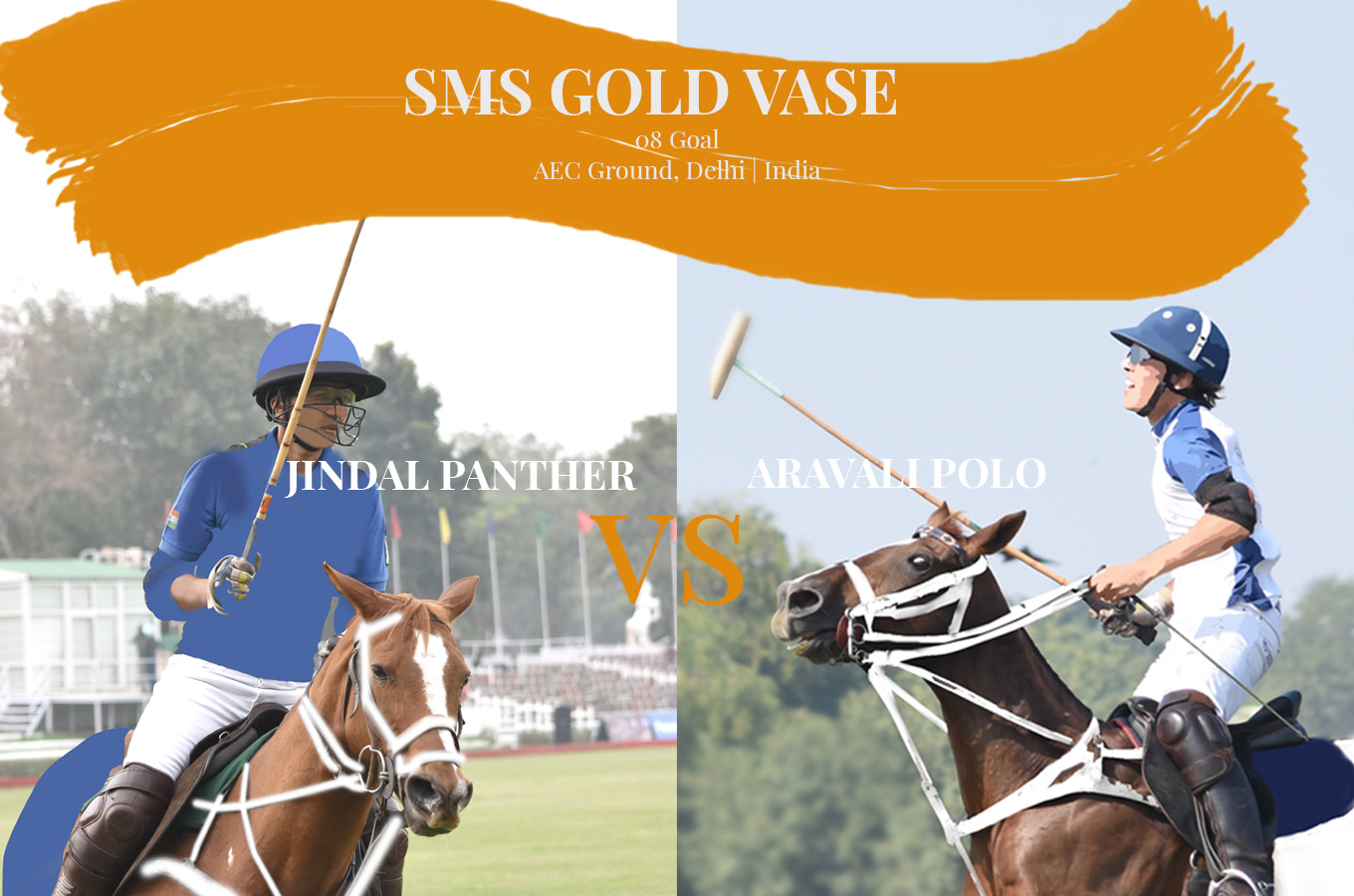 SMS gold vase cup