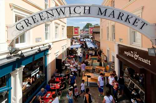 London's Only Historic Agora: Greenwich Market Jane Fairheads The Panzerotto  Pugliese Iida London Sam & J