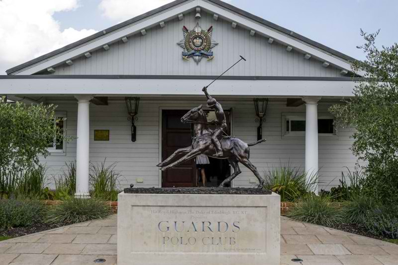 THE HOME OF ROYALS: GUARDS POLO CLUB