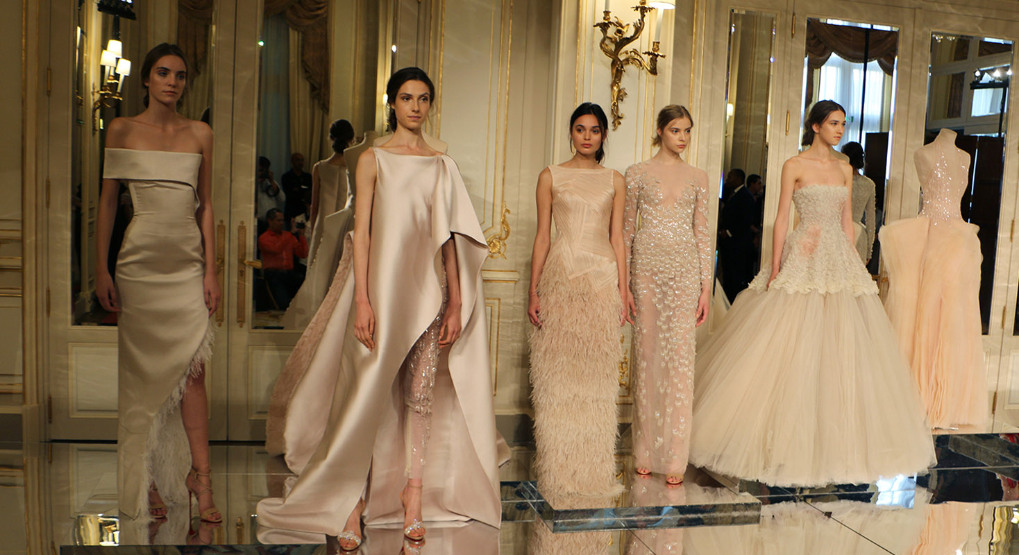 Haute Couture Dresses of Elite ,fashion capitals of the world