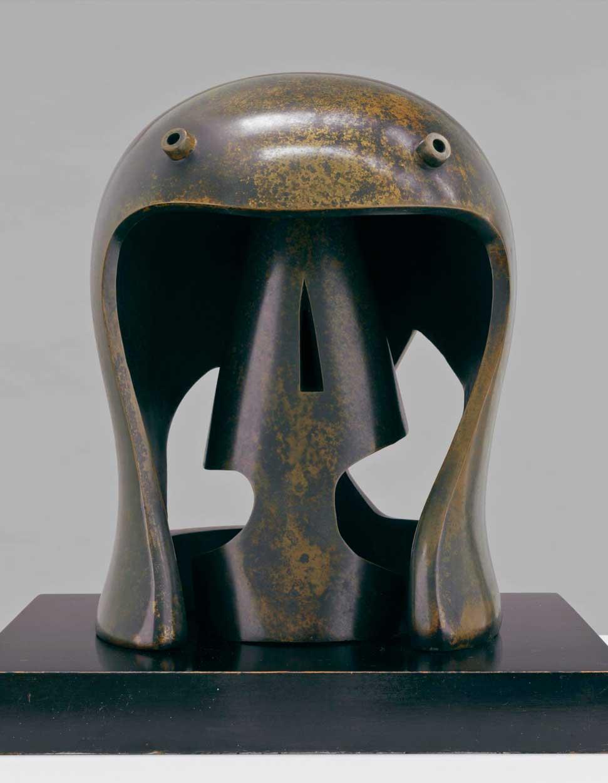 henry moore helmet head
