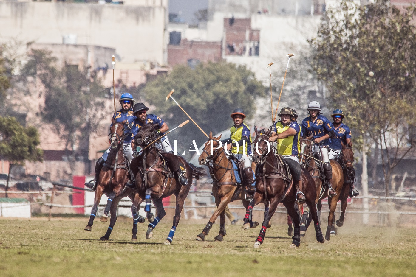 Polo In The Fields Of Delhi | Day 2 Of SMS Gold Vase