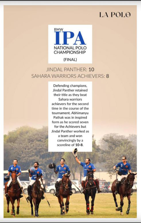 IPA National Polo Championship,Delhi Polo Season