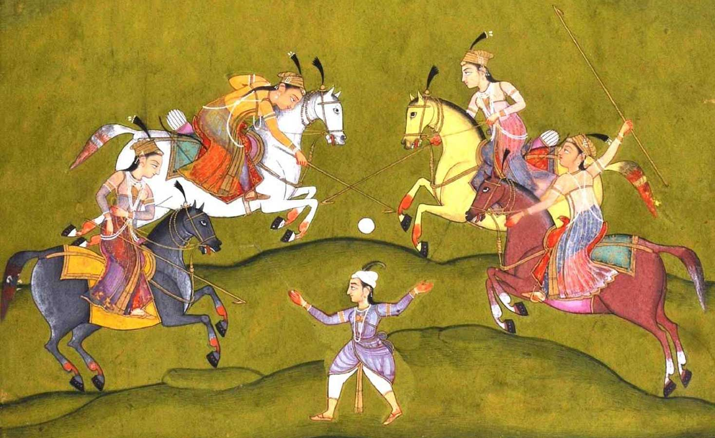 history of manipur polo