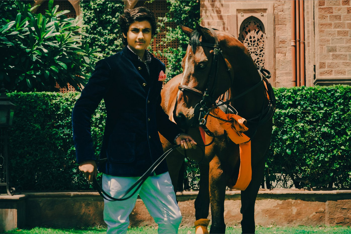 Kartikeya Singh wearing the Jodhpuris