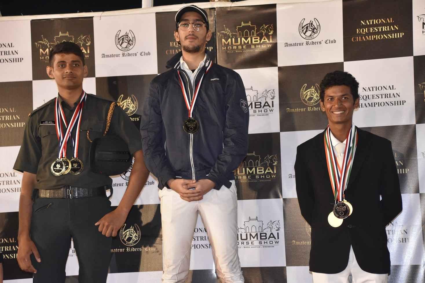National Equestrian Championship winners