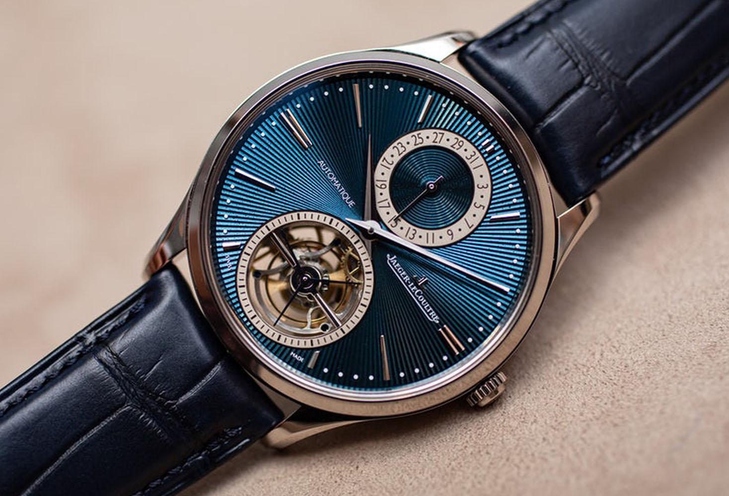 Master Ultra Thin Tourbillon Enamel:Best Watches Of SIHH 2019