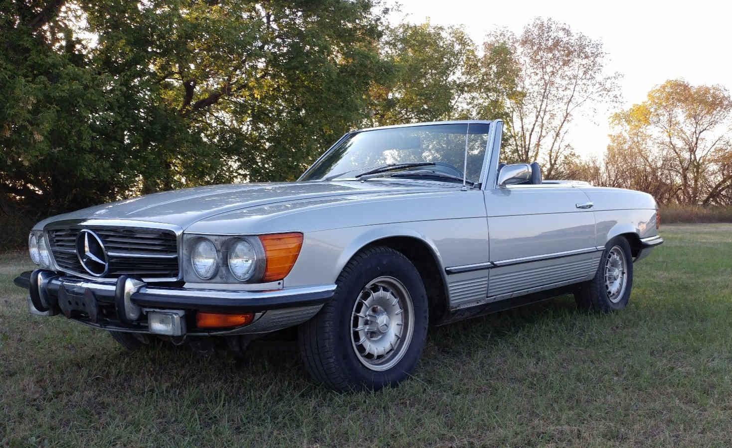 1972 Mercedes 350 SL