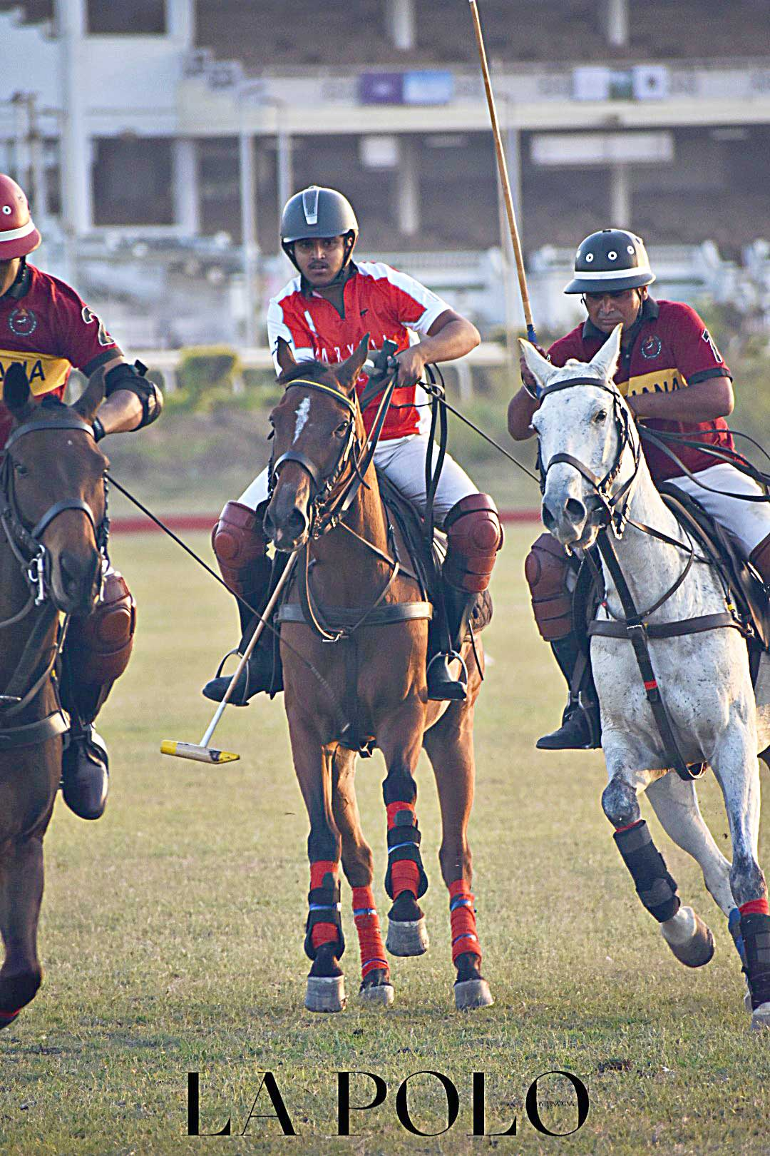 Sliver stick Polo tournament