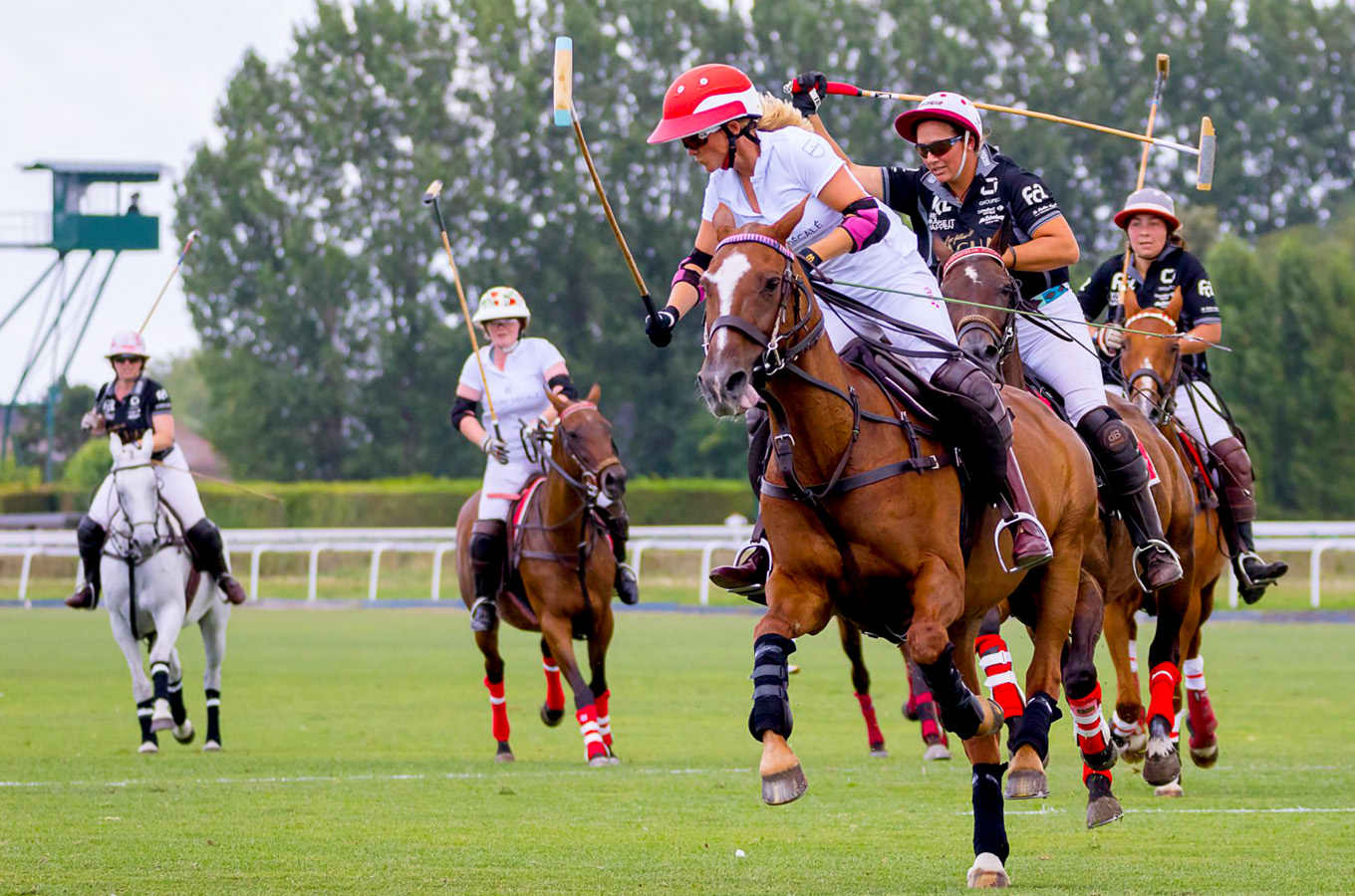 Polo season in deauville ushered