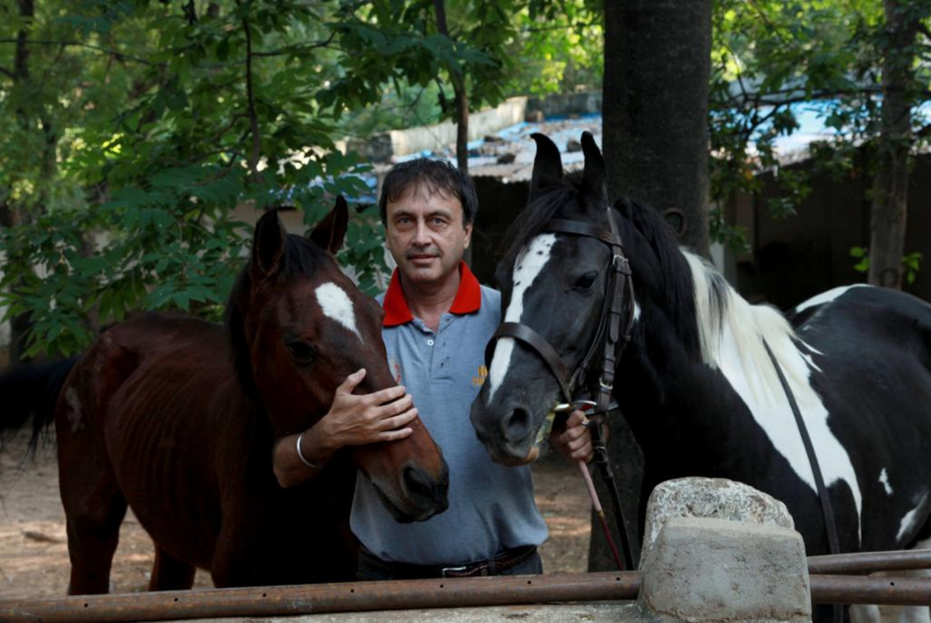 Siraj Attari, former polo player