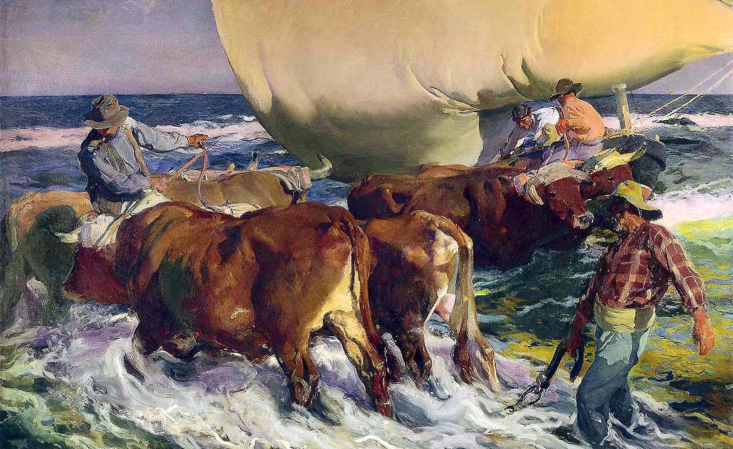 spanish impressionist painter Joaquin Sorolla