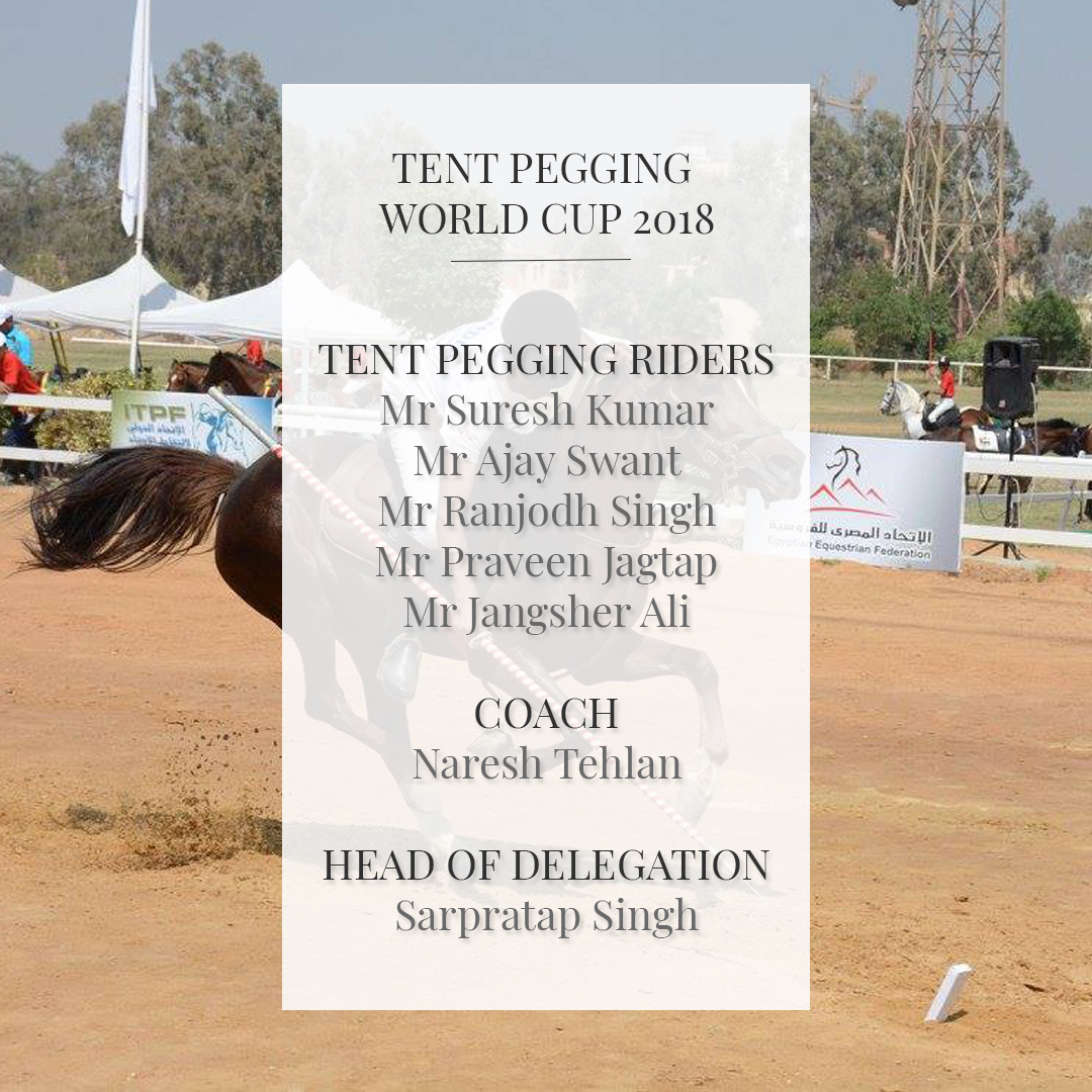 Tent Pegging World Cup 2018,UAE Equestrian and Racing Federation,Tent Pegging,Pegging World Cup 2018