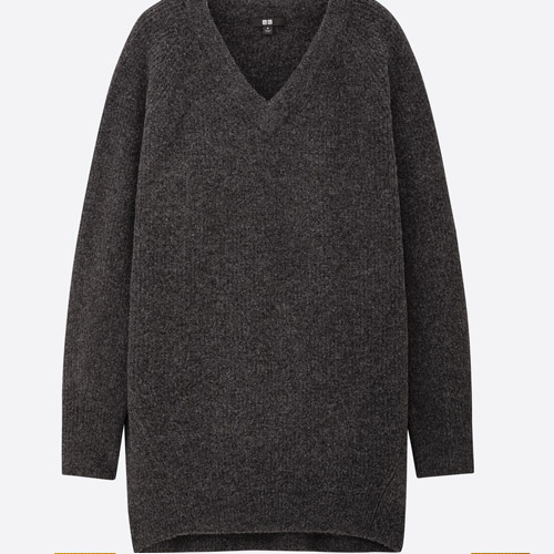 UNIQLO in india  souffle v neck