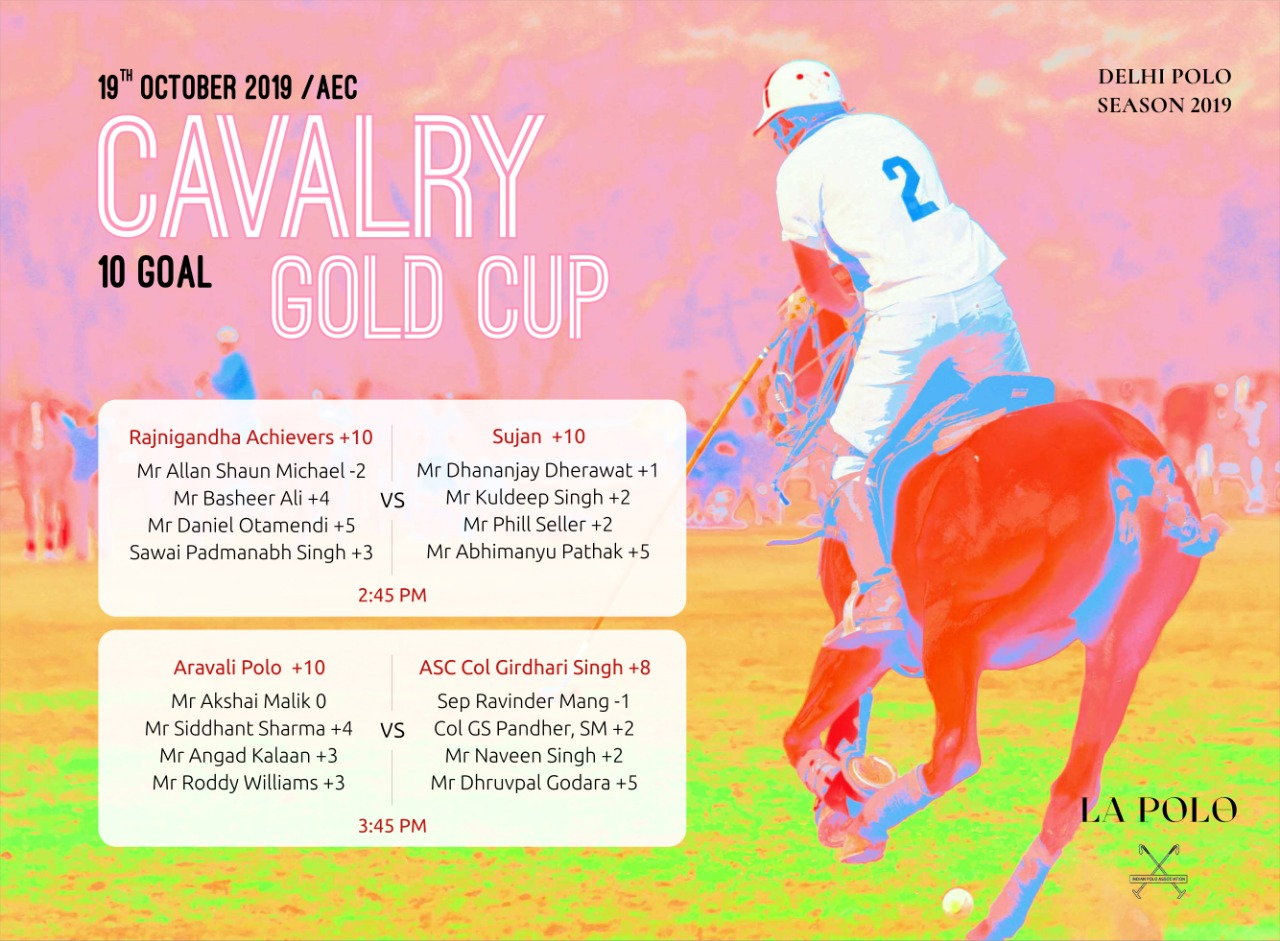 Four Teams And One Vision   Semi-Finals Cavalry Gold Cup