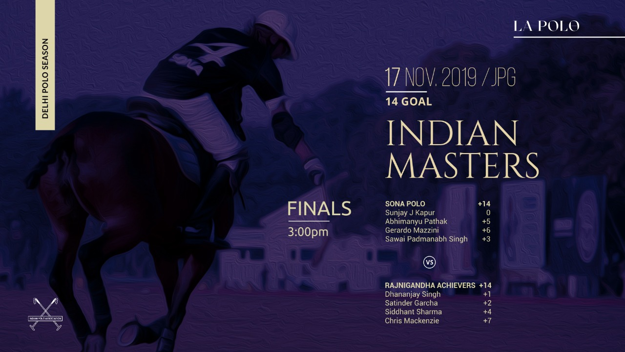 The Indian Masters 2019