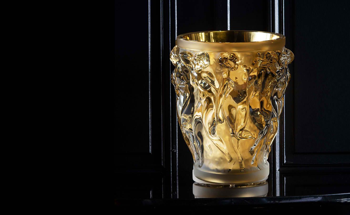 Lalique Bacchantes Grand Vase